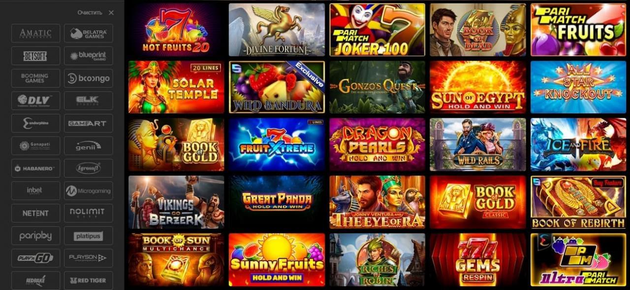 Обзор онлайн-казино Париматч - Моя газета | Моя газета
